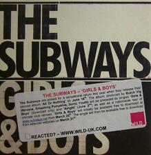 The Subways(CD Single)Girls & Boys-Infectious-2008-New