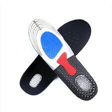 Support Heel Cushion Gel Orthotic Men's Sport Running Insoles Insert Shoe Women