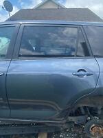 Driver Side Door W/ Windows, Electronics, Door Panel Electric EV Fits 06-14 RAV4