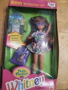 Vintage 1994 Polly Pocket Whitney Barbie Doll Mattel #12983 NIB
