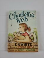 Charlotte's Web 1952 Hardcover DJ EB White Garth Williams illustrator