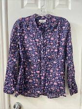 isabel marant Etoile Cotton Floral Print Blouse Top Sz 34 (item 9.5)