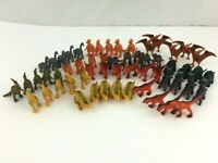 Lot of 57 Dinosaur Prehistoric Toy Figures