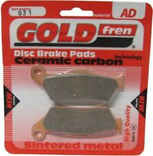 Moto Guzzi Norge 1200 GT  ABS  Brake Disc Pads Rear R/H Goldfren 2008-2009