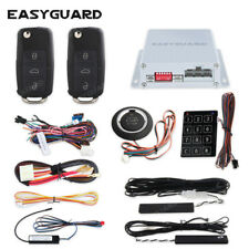 Easyguard Pke Car Alarm System Remote Engine Start push button Password Entry
