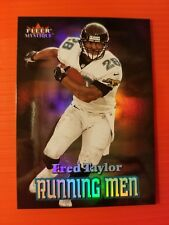 FRED TAYLOR (SP) RUNNING MEN INSERT #RM-5 JAGUARS * 2000 FLEER MYSTIQUE NFL