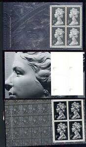 1999  Large Machin Prestige Booklet Panes  (3)  unmounted MINT     (T958)
