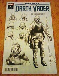 STAR WARS DARTH VADER #8 Ochi of Bestoon Design Variant Cover Marvel 2020 NEW
