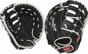 "Rawlings Shut Out Fastpitch First Base Mitt 13"" RSOFBMBW - LHT Left Hand Throw"