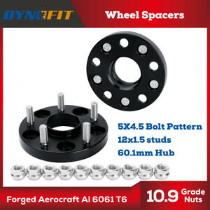 2x20MM Wheel Spacers 5x114.3 5x4.5'' 12X1.5 studs for Tacoma 2wd Camry Lexus