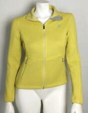 Ladies Spyder Core Sweater Yellow Size S/P