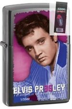 Zippo 28345 elvis presley limited ed 35th anniversary 3500 Lighter + FLINT PACK