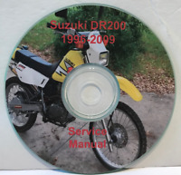 1996-2009 Suzuki DR-200SE Service Repair Manual on CD 262 pages Free Shipping
