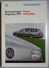 V07236 VOLKSWAGEN PROGRAMME 1991