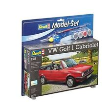 Revell VW Golf 1 Cabriolet 1:24 Model Kit - 67071