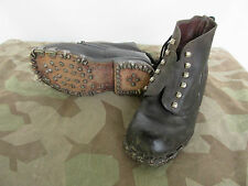 ALPINISTE bottes à lacets WEHRMACHT Mountain Trooper Bottines WH WWII - 38