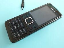Nokia  6300 - Schwarz (Ohne Simlock) Handy wie Neu Top Zustand