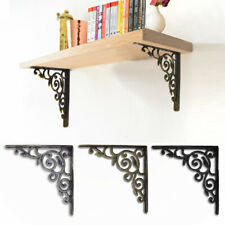 8.5'' Antique Cast Iron Wall Ornamental Shelf Support Book /Sink Cistern Bracket