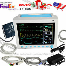 us seller ICU Patient Monitor 6-parameter ECG/NIBP/Spo2/PR/Resp/Temp,CONTEC,FDA