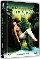 Das Ding aus dem Sumpf   Mediabook Uncut Limitiert 500   Cover B   Blu-ray DVD