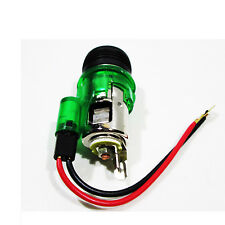 12V Green light Cigarette lighter plug & socket for Ford Fiesta Focus Mondeo Esc