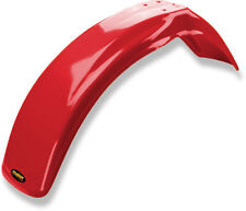 NEW HONDA 81 - 82 XR 250R RED PLASTIC FRONT MOTORCYCLE FENDER XR250R