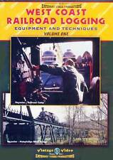 West Coast Railroad Logging Equipment & Techniques Volume 1 DVD NEW Catenary