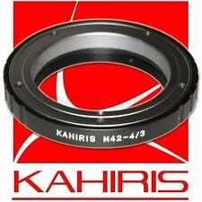 KAHIRIS M42 4/3 - Bague d'adaptation objectif M42 vers boitier Olympus 4/3