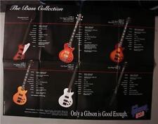 Gibson Bass Guitar Poster Thunderbird IV Motley Crue
