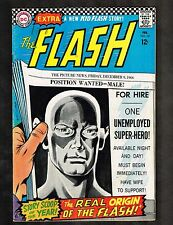 Flash #167 ~ The Real Origin of The Flash ~ 1967 (Grade 6.0) WH