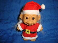 "Russ Troll dress as Santa Hanging Christmas Ornament 4"""