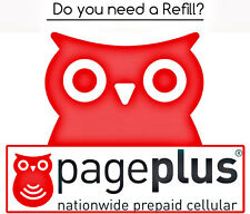 PagePlus Cellular Wireless Pay As You Go Phone Refill Card $10 FASTEST ON eBay