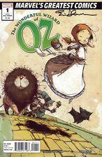THE WONDERFUL WIZARD OF OZ #1 signed MGC ed. MARVEL COMIC ERIC SHANOWER 2010 COA