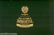 Richmond Hall Of Fame & Immortals Card Tin Set (129 + 9 Signature Cards)