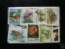 ******* TIMBRES AZERBAYCAN : 25 TIMBRES TOUS DIFFERENTS *******