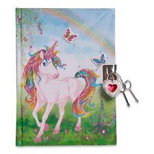 Magique Licorne Enfants Filles Secret Diary (verrouillable-Cadenas & Clés) lucy locket