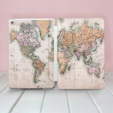 World Map iPad Pro 9.7 10.2 12.9 Smart Cover Colorful iPad Mini 2 3 4 Case Skin