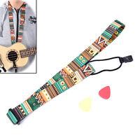 Réglable impression en nylon style Ukulele Sangle Ukulele guitare AccessoiOP
