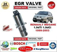 FOR RENAULT MEGANE 1.9 dTi dCi 1999-2003 Electric EGR VALVE 5PIN with GASKETS