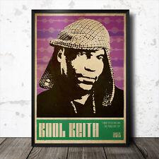 Kool Keith DR. Octagon Poster Artistico hip hop musica rap DANIEL dumile MOS Def J DILLA