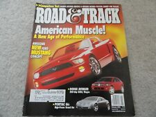 2003 Honda Accord / Mazda 6 / Nissan Altima / VW Passat Road Track Magazine