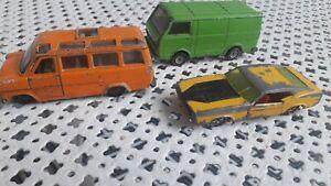 Lot voitures miniatures SIKU ford vw