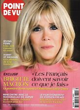 POINT DE VUE n°3611 04/10/2017 Brigitte Macron/ Harry&Meghan/ Irving Penn/ Dench