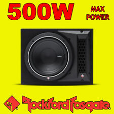 "Rockford Fosgate 10"" pollici PUNCH 500w CAR AUDIO SUBWOOFER SUB WOOFER BASS BOX NUOVO"