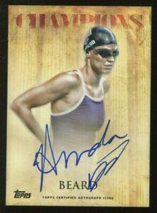 2012 Topps USA Olympics Champions  AUTO ~ AMANDA BEARD