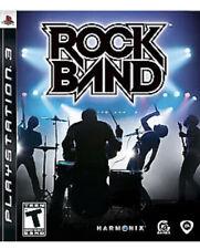 Rock Band PS3 PlayStation 3 T Kids Game No Instruments