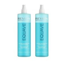 2x 500 ml REVLON EQUAVE HYDRO 2 PHASE KERATIN NUTRITIVE CONDITIONER
