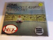 TRAVIS - WHY DOES IT ALWAYS RAIN ON ME 5 track CD