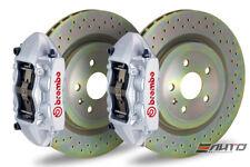 Brembo REAR GT Big Brake BBK 4piston Silver 365x28 Drill Disc Camaro V6 10-14