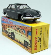 Atlas Dinky Toys Reproduction - 524 Coach Panhard 24C Black Diecast Model Car